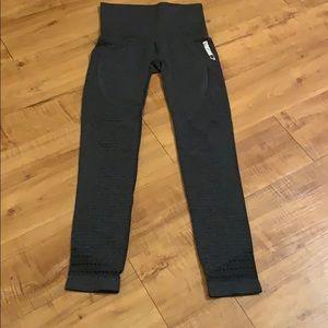 Gray GYMSHARK Dry Moisture Management Leggings XS